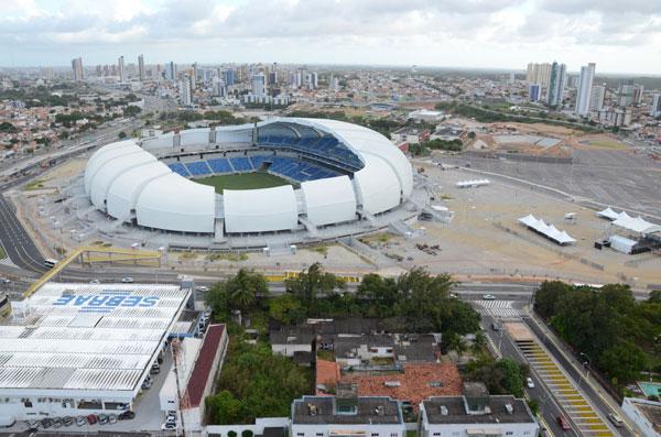 Apesar da nova arena, os públicos do futebol potiguar só crescem nos jogos contra grandes clubes