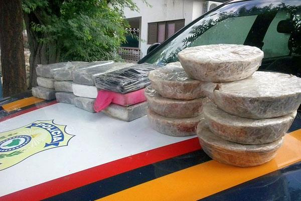 20 quilos de drogas foram apreendidas em Currais Novos