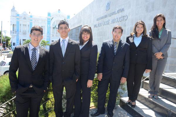 Os jovens foram escolhidos em eleições ocorridas em escolas públicas e privadas do Rio Grande do Norte
