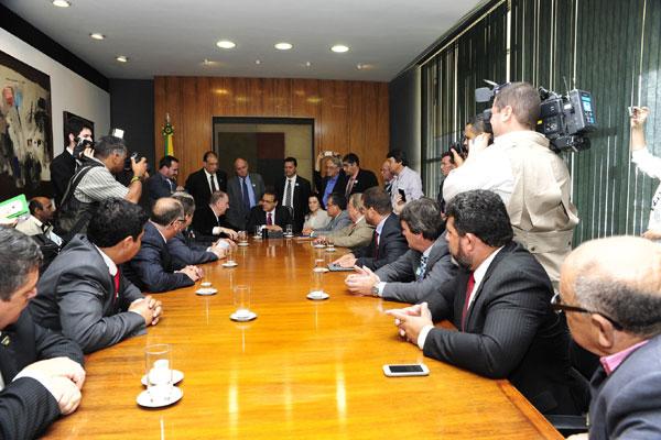 Além do presidente da Confederação, presidentes de federações estaduais estiveram na Câmara