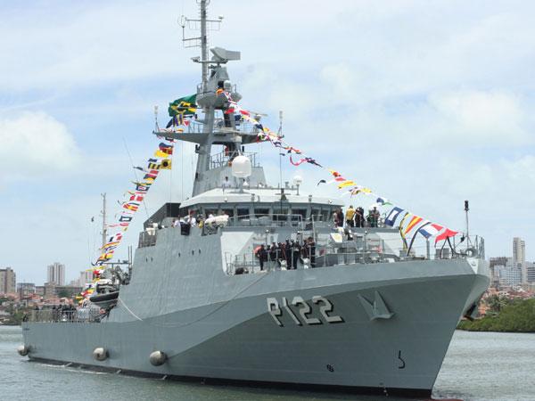 Navio está a serviço do Comando Naval/RN desde outubro/2013