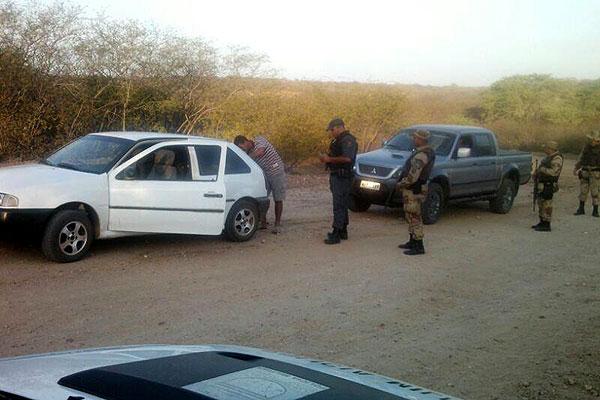 Segundo a Sesed, mais de 5 mil veículos foram abordados em três dias