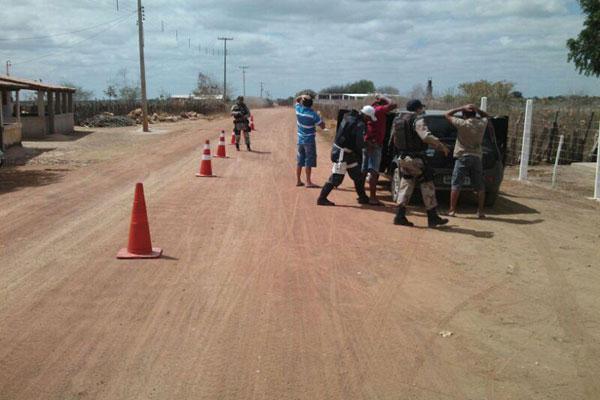 Forças da Sesed, Polícia Federal, PRF e Abin participaram da ação