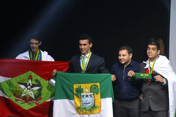 RN faturou oito medalhas: três de ouro, duas de prata e três de bronze