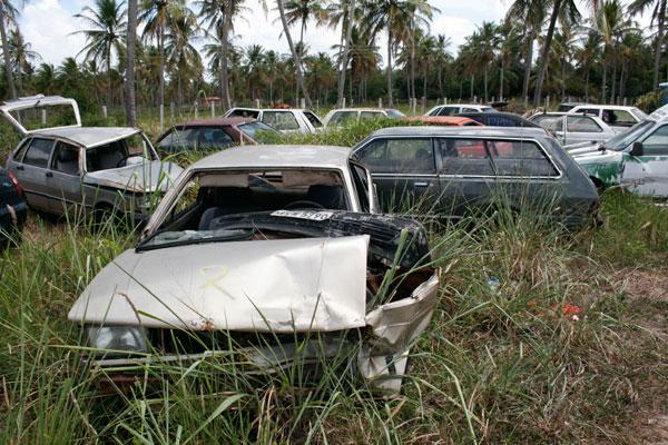 Atualmente, a PRF tem 1.650 veículos guardados em seus oito postos no Rio Grande do Norte