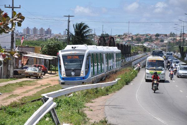 VLT fez o trajeto norte, que vai da Ribeira, na zona Leste, à Nordelândia, na zona Norte de Natal
