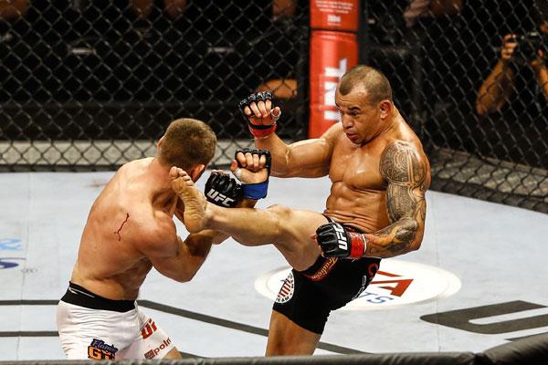 Além dos recordes de número de lutas e vitórias no UFC, o potiguar Gleison Tibau goza de muito respeito entre lutadores e dirigentes