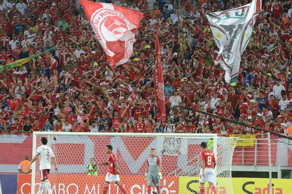 América confirma esgotamento de três setores para jogo contra o Flamengo