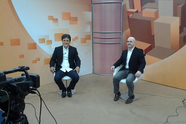 O vice foi entrevistado no programa conduzido pelo jornalista Robson Carvalho, na Band-Natal