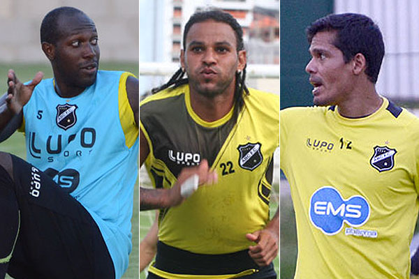 Somália, Dênis Marques e Gilvan seguem desfalcando o ABC