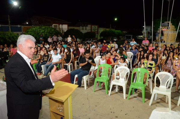 Antônio Gentil fez palestras para os concluintes no RN