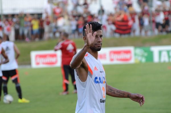 Léo Moura confirmou que vai deixar o Flamengo