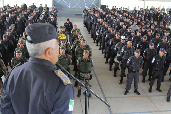 Tropas da Polícia Militar já foram deslocadas para atuar nas eleições