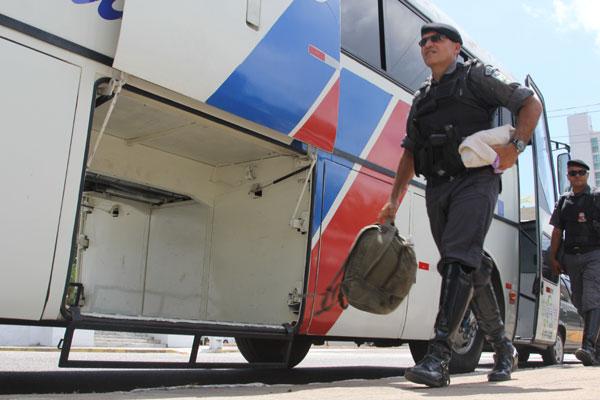 O efetivo reforçará a segurança no interior durante as eleições