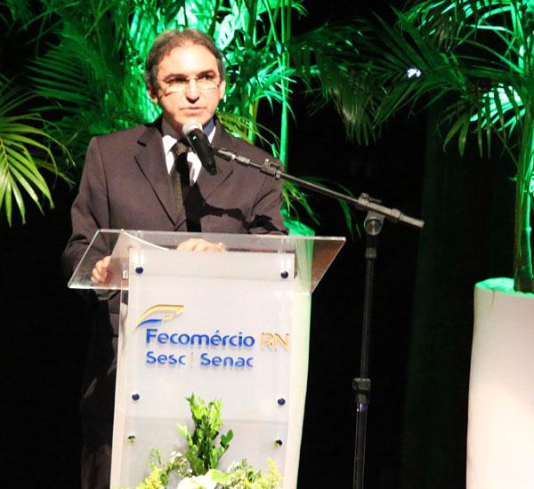 Marcelo Queiroz - Presidente do sistema Fecomércio RN