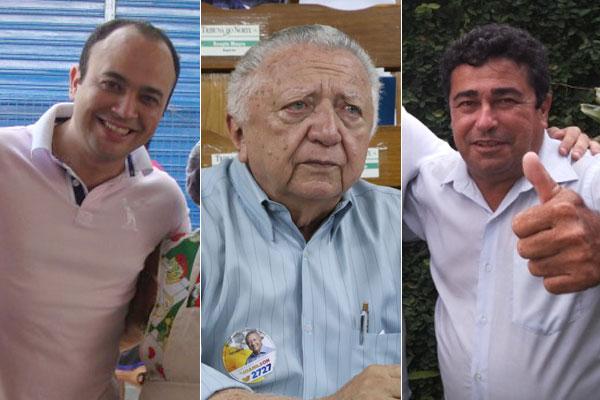 Joanílson de Paula Rêgo, Emanuel do Cação e Klaus Araújo são os suplentes dos vereadores eleitos para cargos de deputados