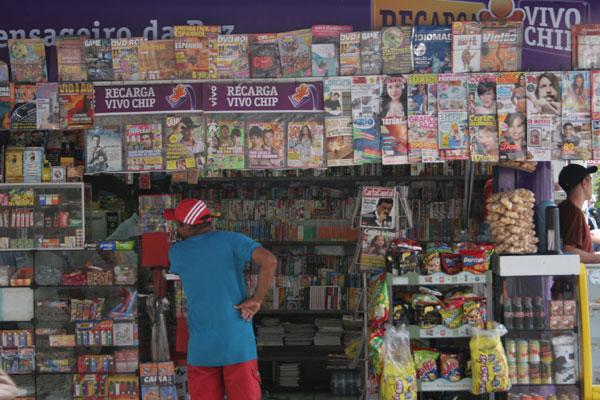Bancas de revistas serão utilizadas como pontos de informações turísticas pela Prefeitura do Natal