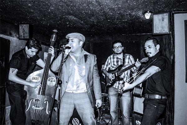 O estilo retrô e o trabalho autoral da The Bop Hounds marcou presença no maior festival de Rockabilly do mundo nos EUA
