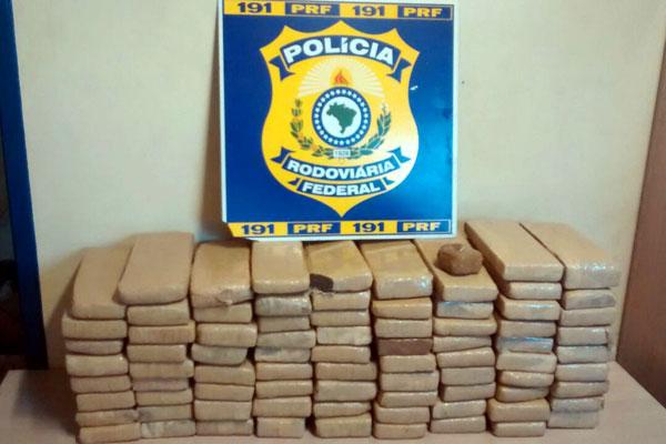 Ex-presidiário é preso com 80 tabletes de maconha em ônibus - Tribuna do Norte - Natal