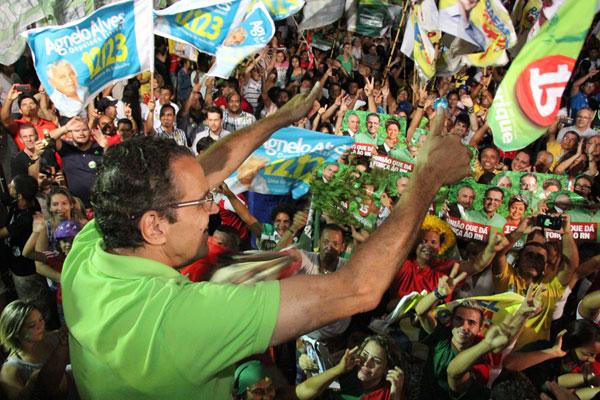 Campanha de Henrique Alves fará mobilização para marcar o encerramento dos comícios