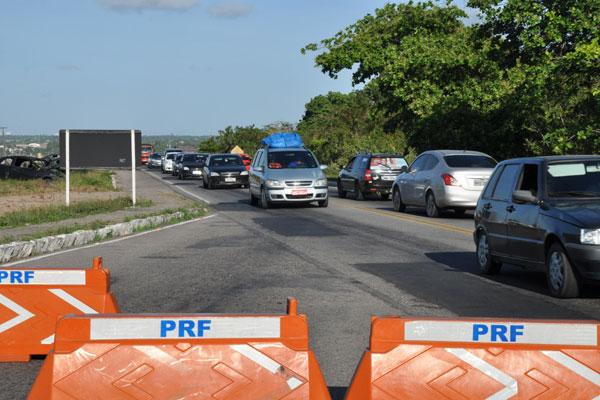 PRF vai fiscalizar rodovias a partir desta sexta (13) até a quarta (18)