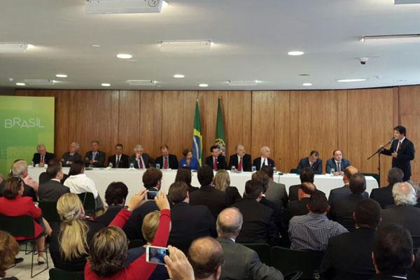 Robinson destacou gratidão do Nordeste pelo trabalho de Dilma