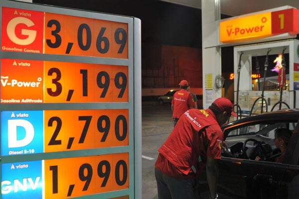 Até o início da noite, frentistas de postos de Natal não tinham recebido nenhum comunicado sobre reajuste do preço da gasolina