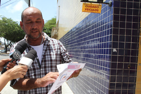 O fiscal de loja José Márcio, 46 anos, confundiu o UFRN com o IFRN