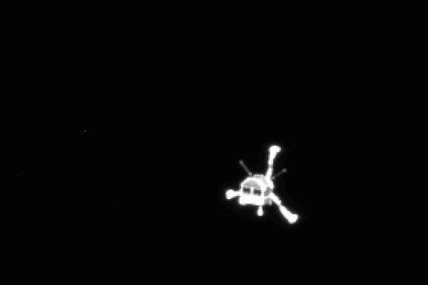 Philae se separou da sonda Rosetta no início da manhã desta quarta-feira
