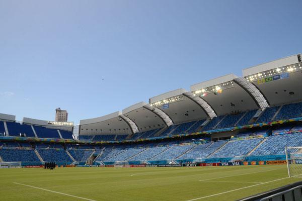 Arena das Dunas concorre ao prêmio de estádio de futebol do ano em 2014