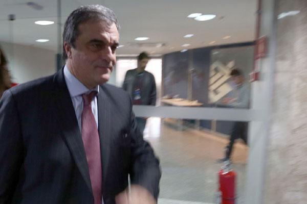José Eduardo Cardozo concede entrevista coletiva no escritório da Presidência em São Paulo