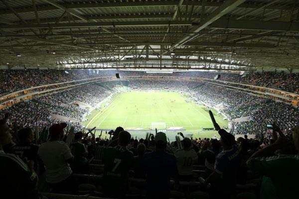 Allianz Parque venceu votação popular e foi eleito melhor estádio do mundo em 2014