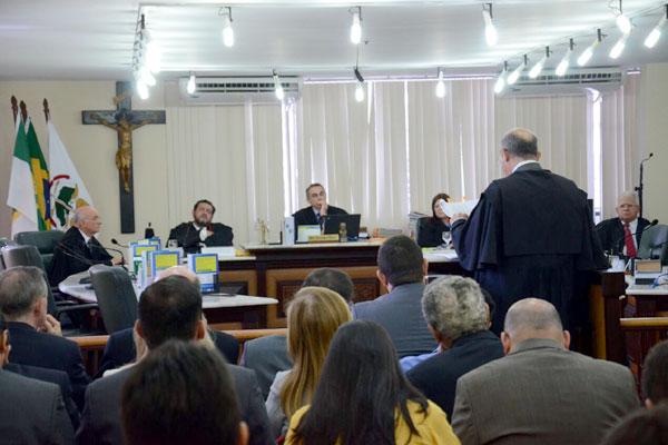Julgamento da Operação Impacto acontece no Tribunal de Justiça