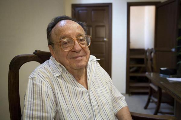 Roberto Gomez Bolaños faleceu aos 85 anos em Cancún, no México