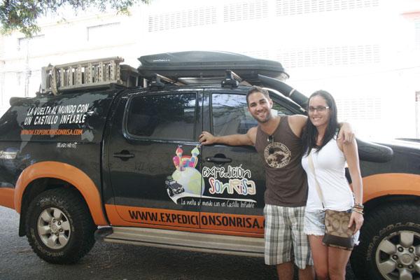 Argentino Facundo Mattos e a namorada percorrem países da América há mais de 11 meses