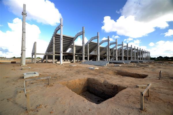Arena do Dragão tem entrega contratual prevista para o aniversário de centenário alvirrubro