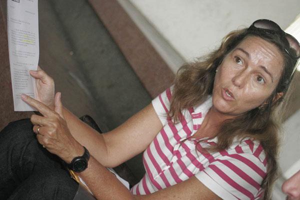 Suzet Cabral - Diretora da Divisão de Atividades Desportivas da UFRN