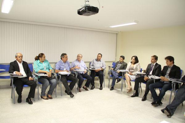 Obery Rodrigues participou de reunião com o governador eleito e a equipe de transição