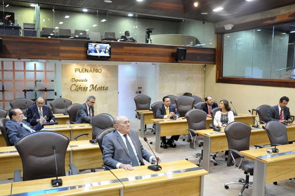 Deputados estaduais devem votar o projeto de orçamento na sessão da próxima quarta-feira