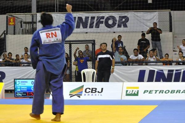 Veronice Chagas foi convocada para a Seleção Brasileira de Judô