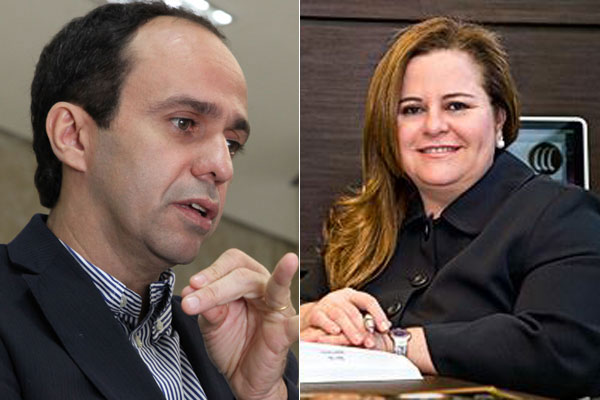 Vice-governador eleito Fábio Dantas e advogada Tatiana Mendes Cunha foram alvos de bandidos em Areia Preta