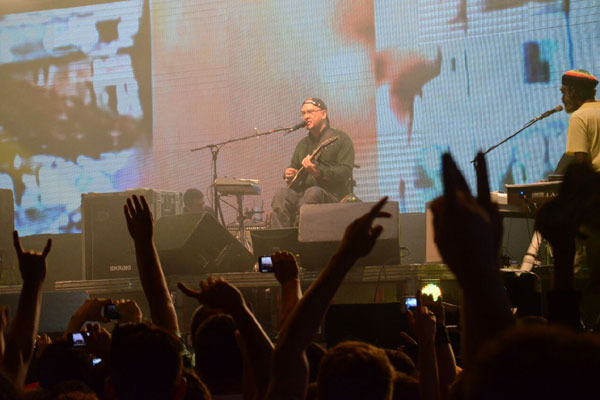 Os Paralamas do Sucessos tocaram na capital potiguar no fim do ano passado