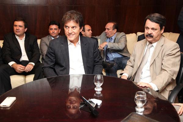 Logo após eleição no segundo turno, Robinson Faria visitou deputados estaduais na Assembleia e conversou sobre perspectivas de união pelos interesses do RN