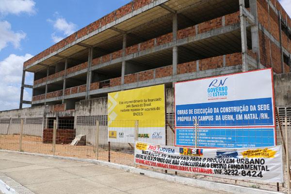 Esqueletos de prédios indicam problemas em projeto de obras - Tribuna do Norte - Natal