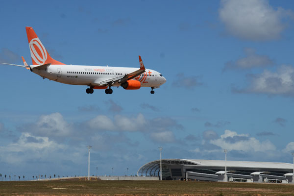 Do dia 31 de maio, quando entrou em operação, até 31 de dezembro, aeroporto de São Gonçalo do Amarante recebeu 11.930 voos