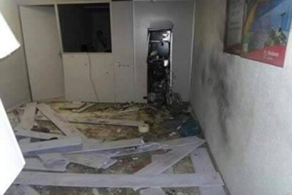 Agência do Bradesco em Serra Caiada foi a primeira explodida por criminosos