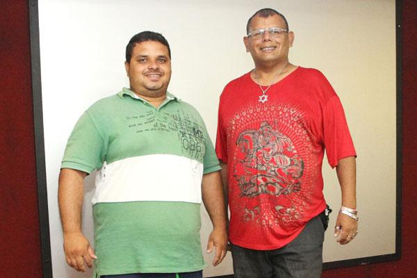 Rubens Carlos e Charles Campos disputam o posto de Rei Momo