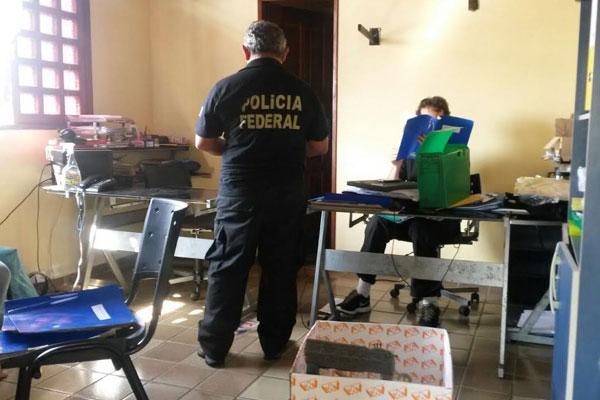 Policiais federais cumprem sete mandados de busca e apreensão no RN