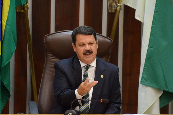 Ricardo Motta é candidato à recondução na presidência da Assembleia Legislativa