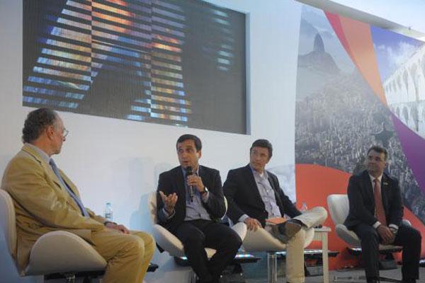 Comitê Organizador dos Jogos Olímpicos e Paralímpicos Rio 2016 apresenta percurso inicial e revezamento da tocha olímpica, sua marca e patrocinadores oficiais